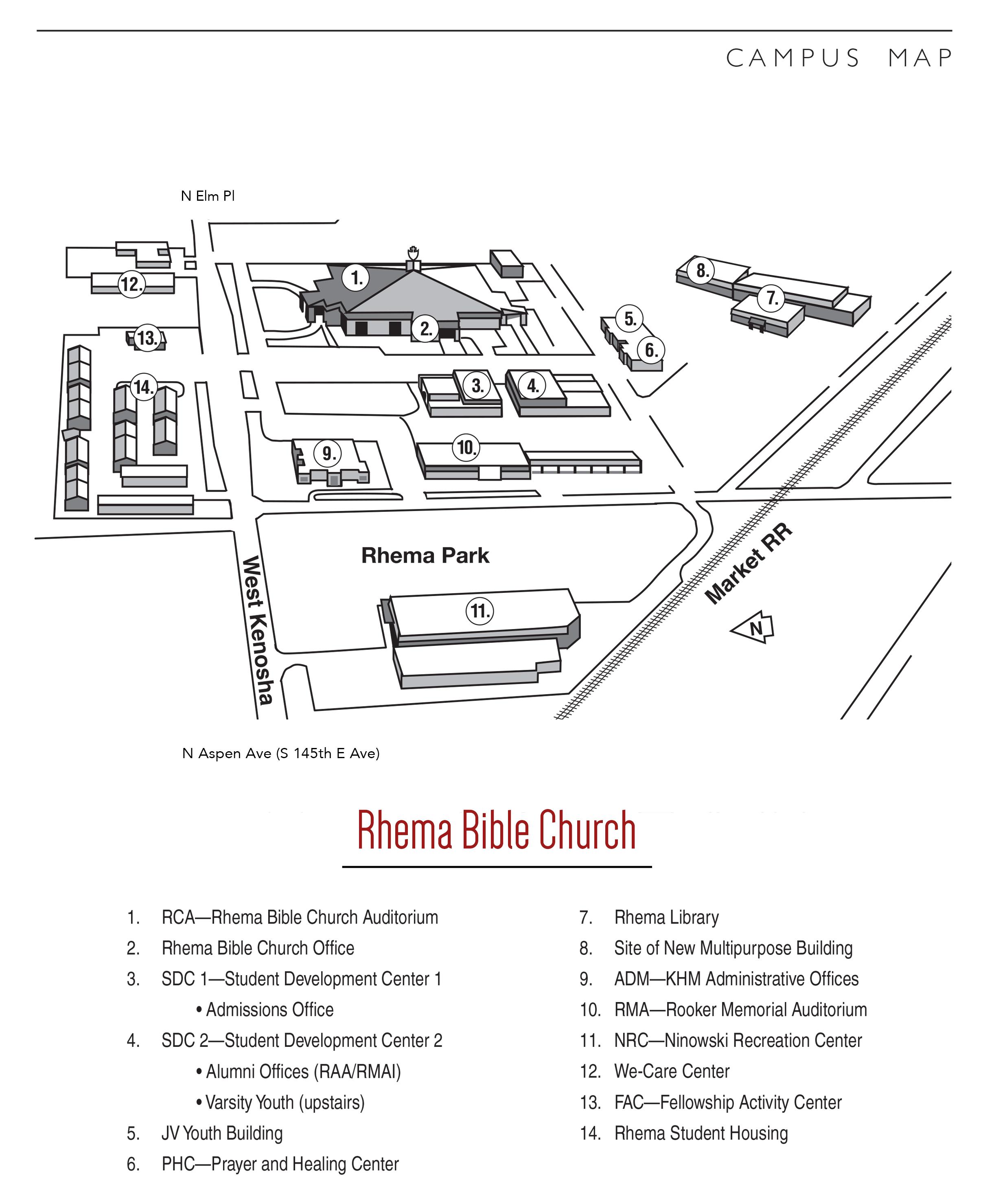 I'm New - Rhema Bible Church