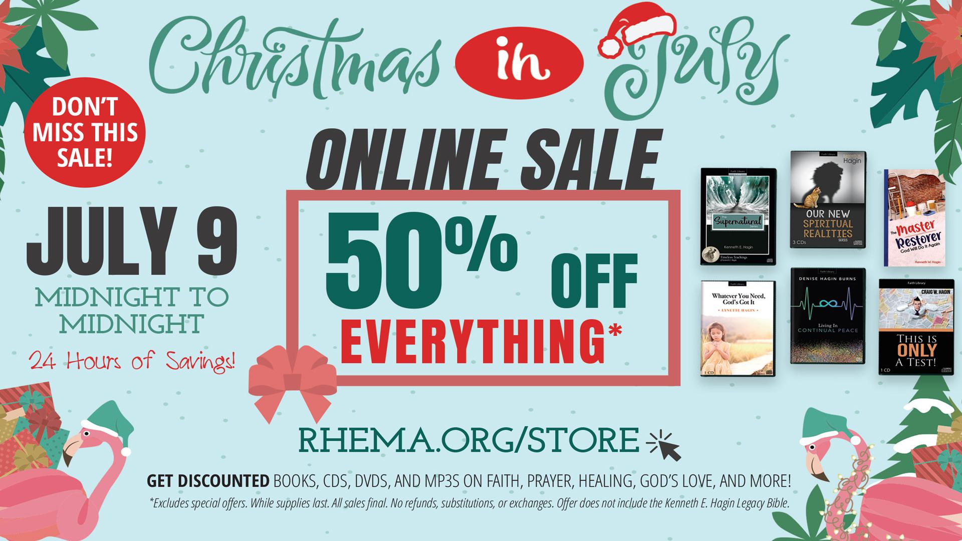 Christmas In July Online Sale